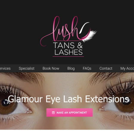 Lush Tans and Lashes